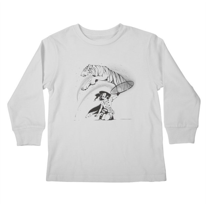 Circus Witch Kids Longsleeve T-Shirt by enorie