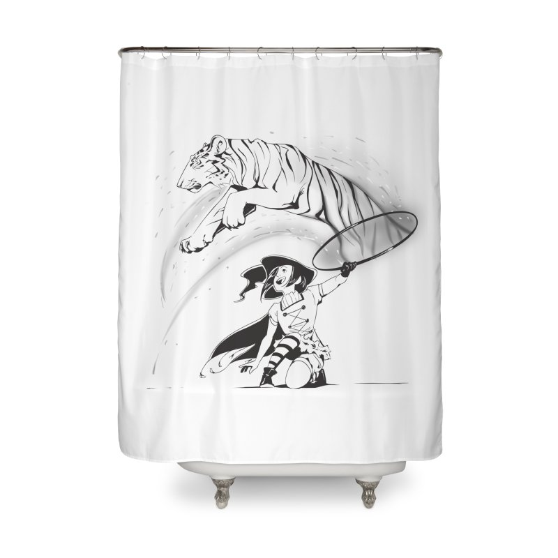 Circus Witch Home Shower Curtain by enorie