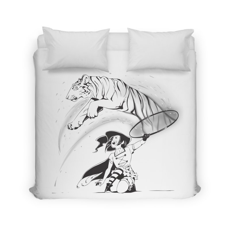 Circus Witch Home Duvet by enorie