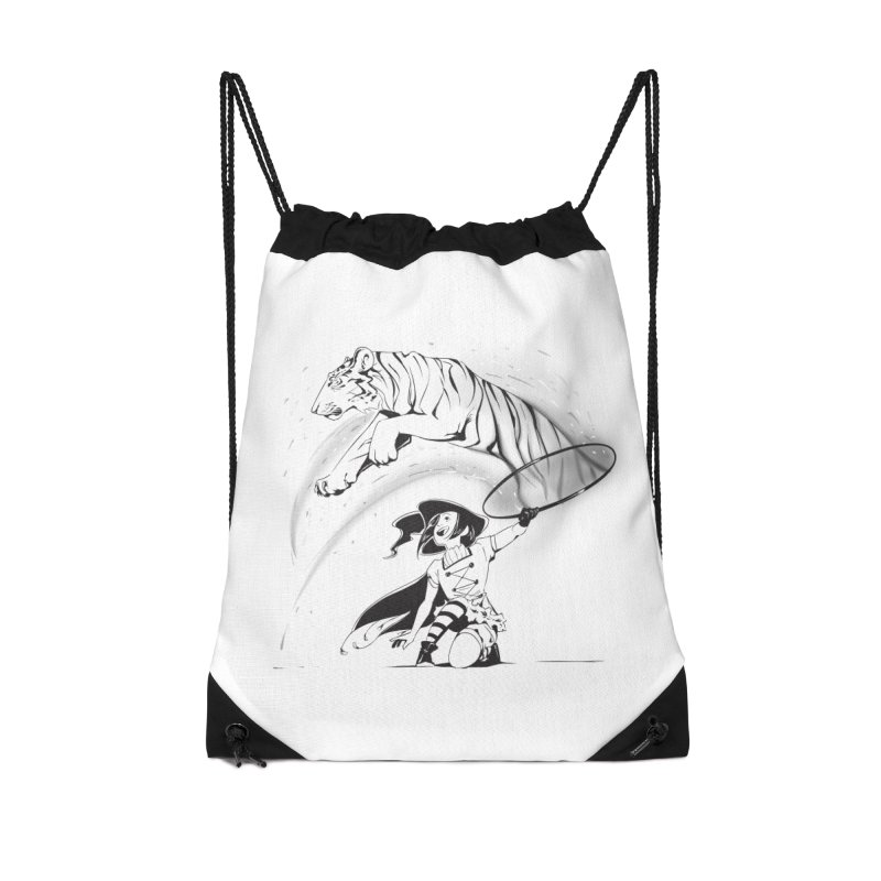 Circus Witch Accessories Drawstring Bag Bag by enorie