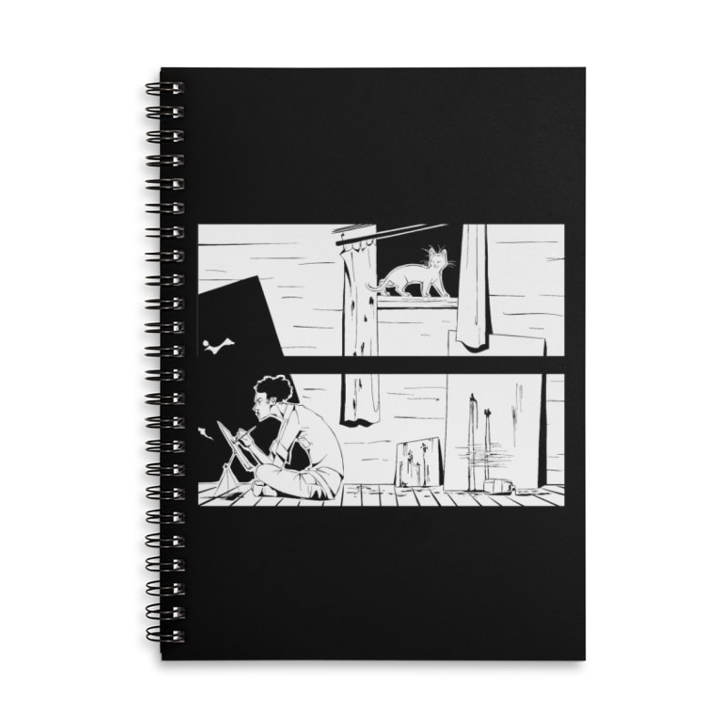 Artist Witch Accessories Lined Spiral Notebook by enorie