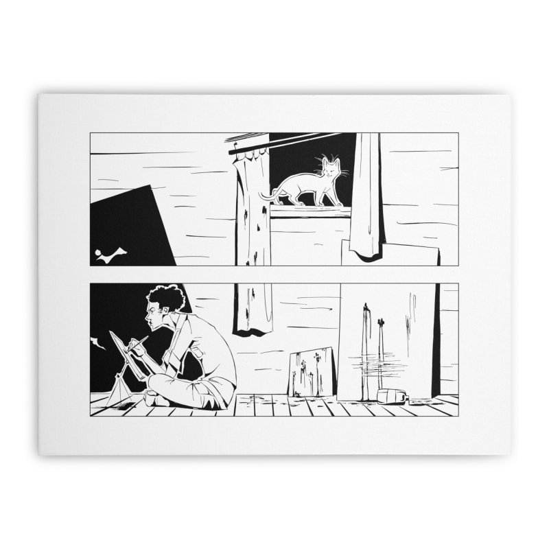 Artist Witch Home Stretched Canvas by enorie