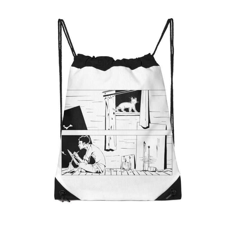 Artist Witch Accessories Drawstring Bag Bag by enorie