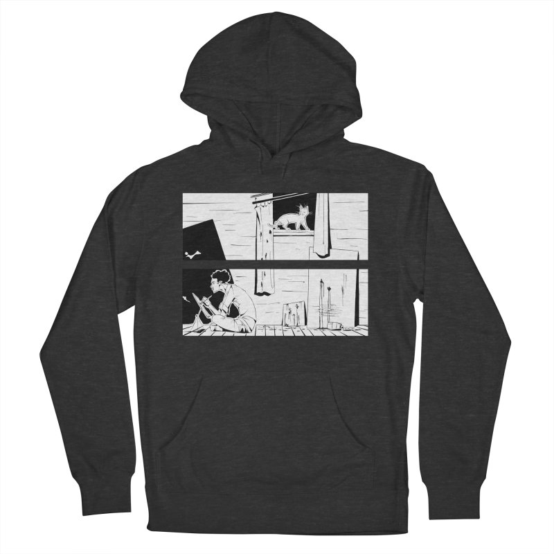 Artist Witch Men's French Terry Pullover Hoody by enorie