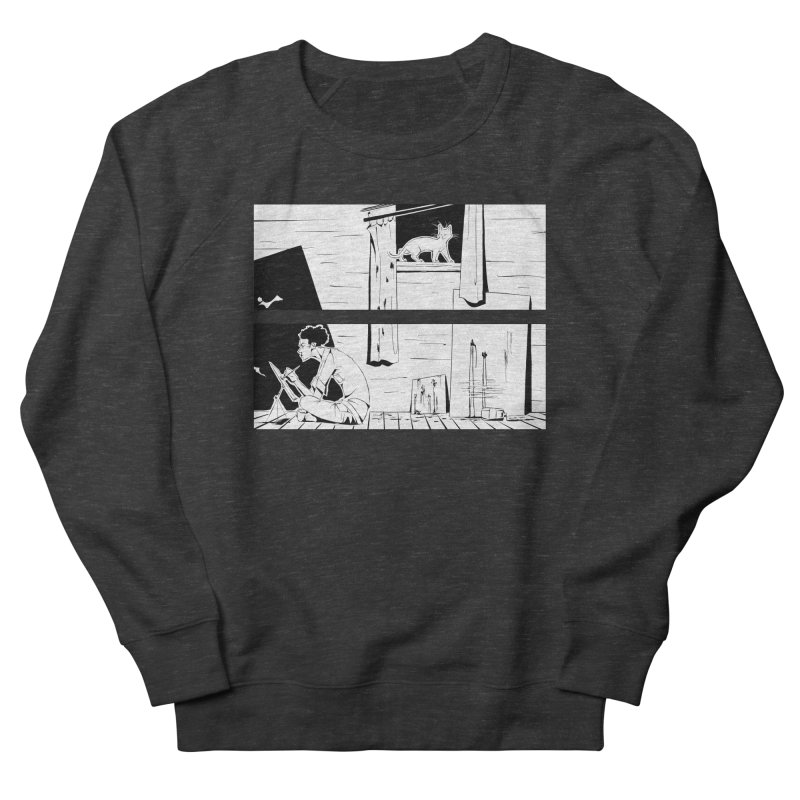 Artist Witch Men's French Terry Sweatshirt by enorie