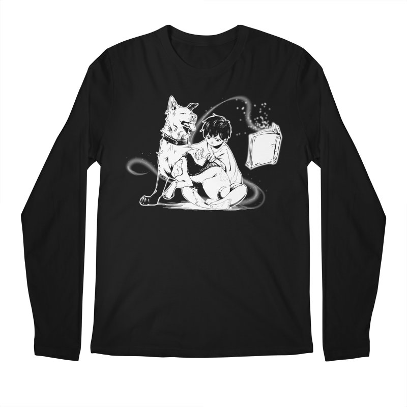 Patchy Witch Men's Regular Longsleeve T-Shirt by enorie