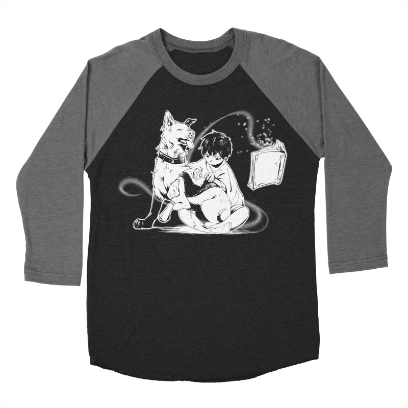 Patchy Witch Men's Baseball Triblend Longsleeve T-Shirt by enorie
