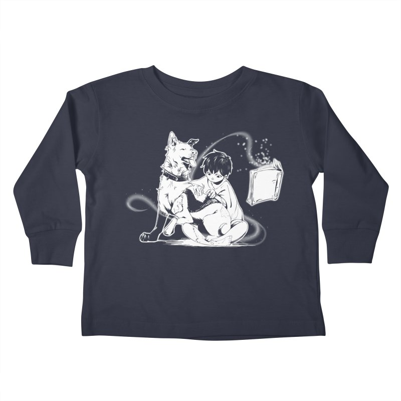 Patchy Witch Kids Toddler Longsleeve T-Shirt by enorie
