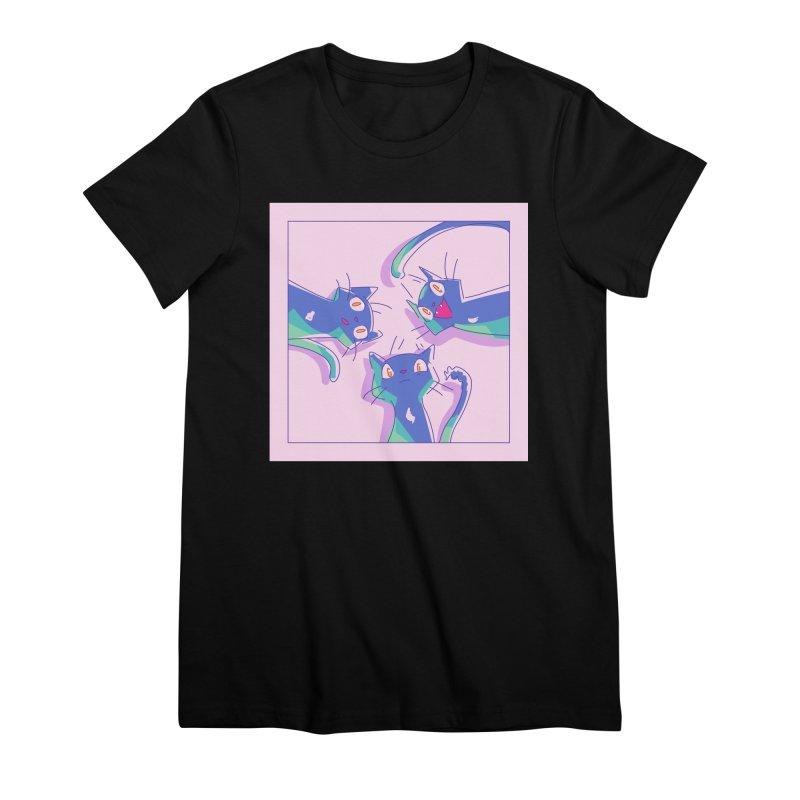 Three Lovely Lasses Women's Premium T-Shirt by enorie