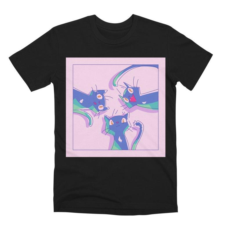 Three Lovely Lasses Men's Premium T-Shirt by enorie