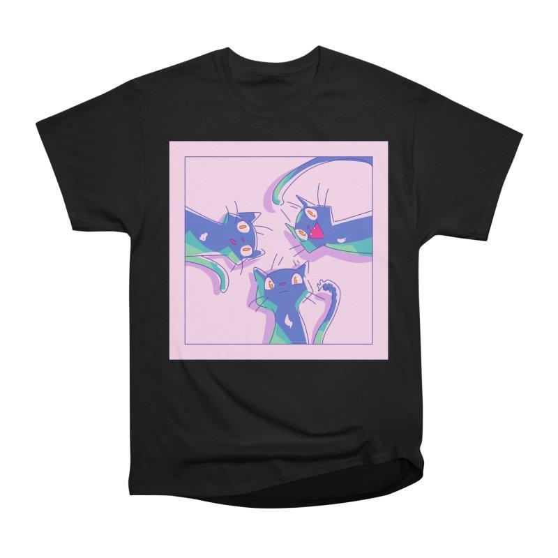 Three Lovely Lasses Women's Heavyweight Unisex T-Shirt by enorie