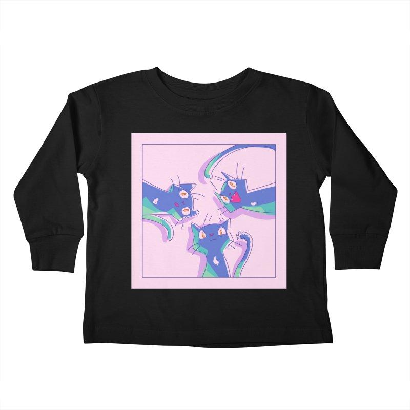 Three Lovely Lasses Kids Toddler Longsleeve T-Shirt by enorie