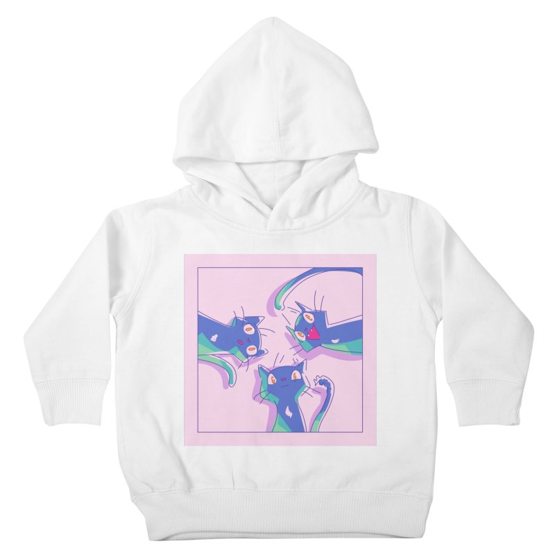 Three Lovely Lasses Kids Toddler Pullover Hoody by enorie