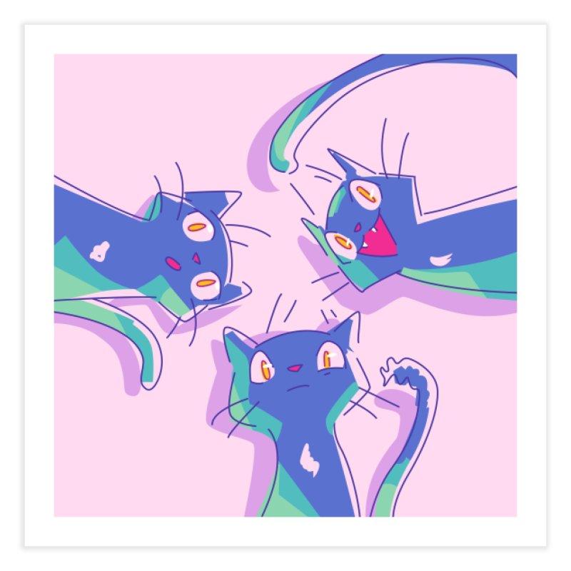 Three Lovely Lasses Home Fine Art Print by enorie