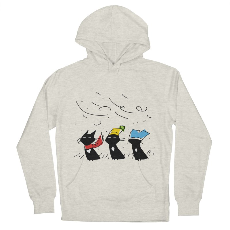 Three Awful Children Men's French Terry Pullover Hoody by enorie