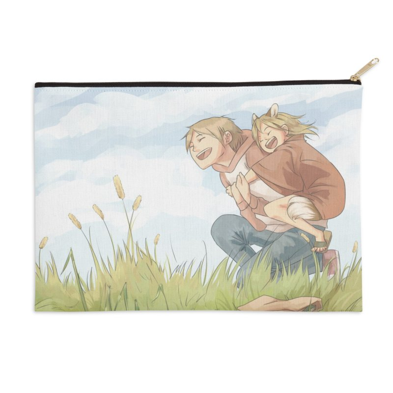 Book of Friends Accessories Zip Pouch by enorie