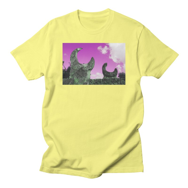creepy castle Women's Regular Unisex T-Shirt by ENRAPTURED CLOTH