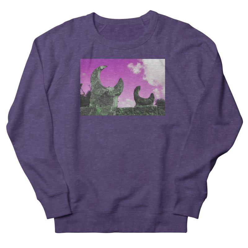 creepy castle Women's French Terry Sweatshirt by ENRAPTURED CLOTH