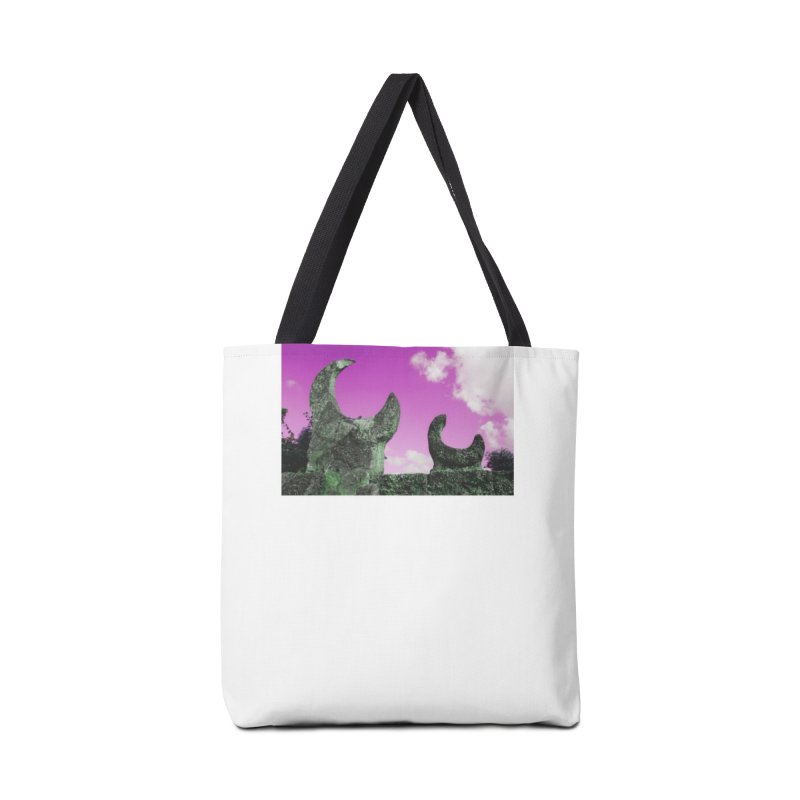 creepy castle Accessories Tote Bag Bag by ENRAPTURED CLOTH