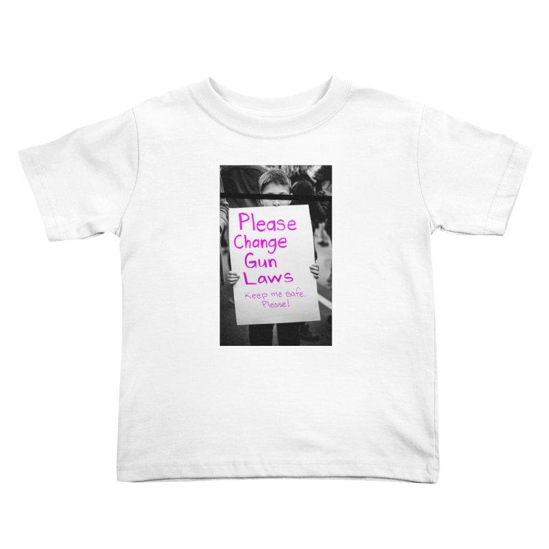 keep me safe, Please! Kids Toddler T-Shirt by ENRAPTURED CLOTH
