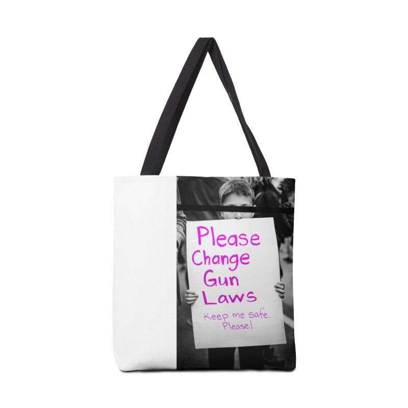 keep me safe, Please! Accessories Tote Bag Bag by ENRAPTURED CLOTH