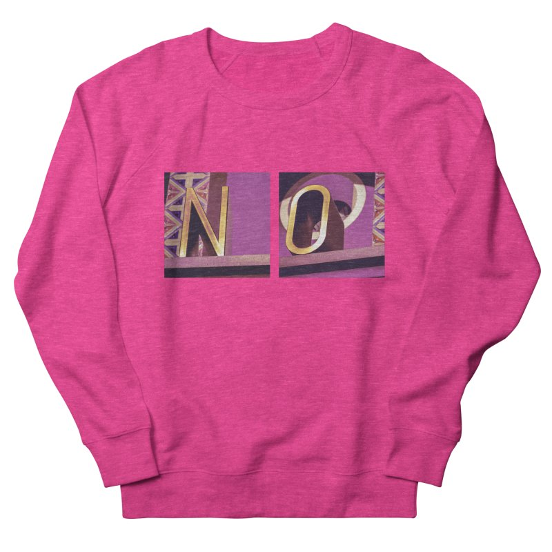 ways to say it Women's French Terry Sweatshirt by ENRAPTURED CLOTH