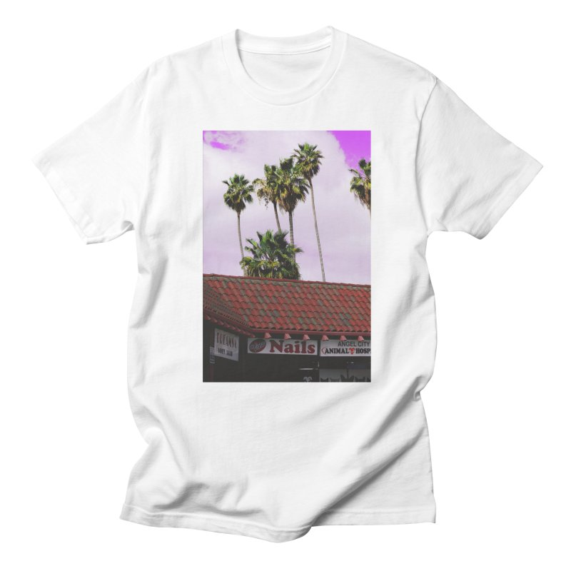 dreams. nails. angel city. Men's T-Shirt by ENRAPTURED CLOTH