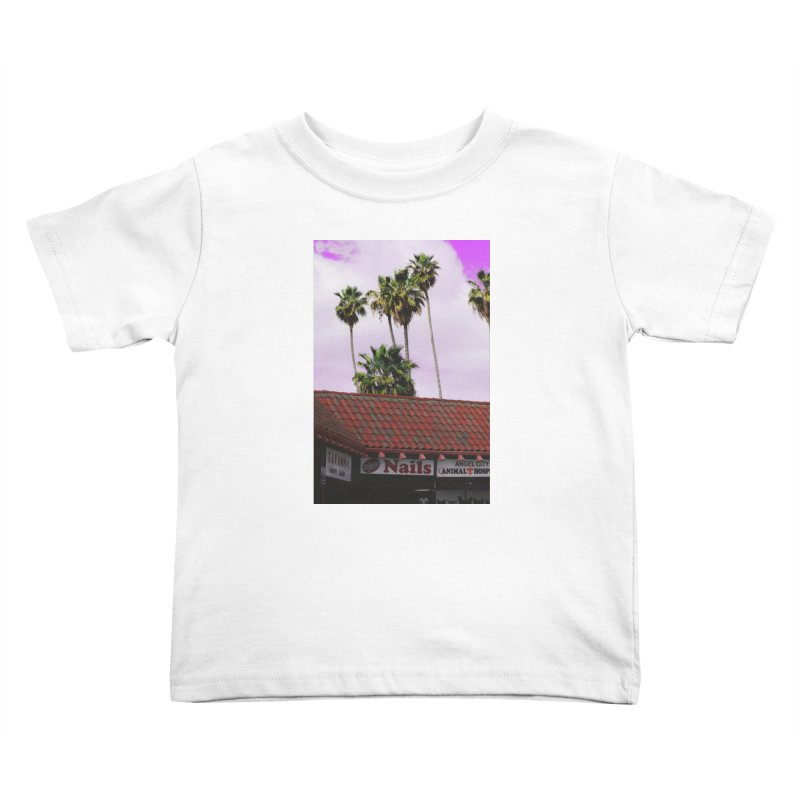 dreams. nails. angel city. Kids Toddler T-Shirt by ENRAPTURED CLOTH