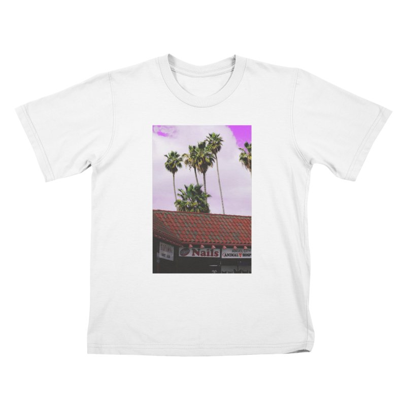 dreams. nails. angel city. Kids T-Shirt by ENRAPTURED CLOTH