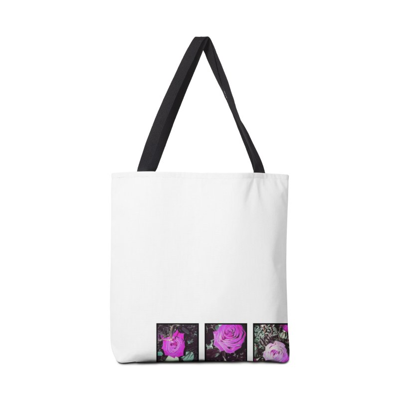 three roses Accessories Tote Bag Bag by ENRAPTURED CLOTH