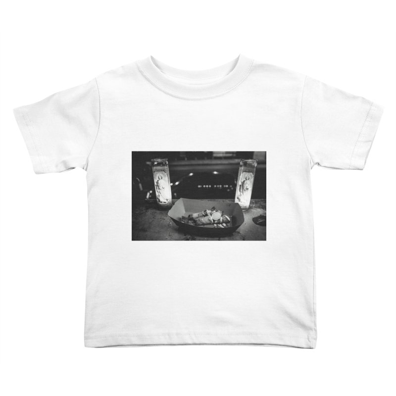 Downtown Kids Toddler T-Shirt by ENRAPTURED CLOTH