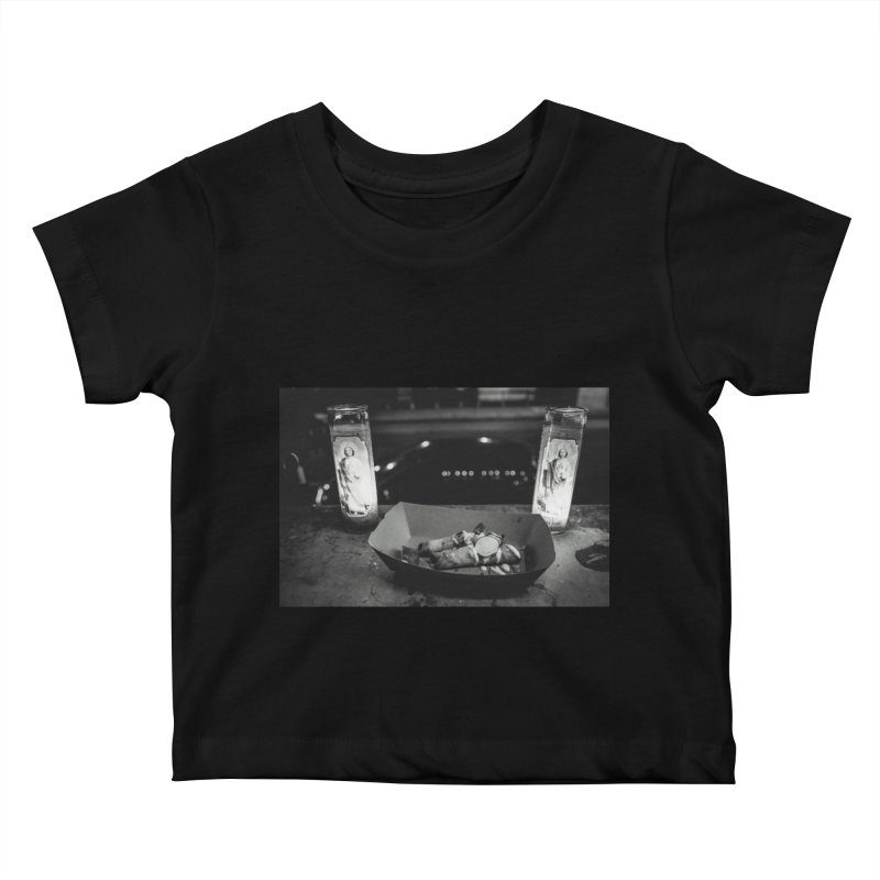 Downtown Kids Baby T-Shirt by ENRAPTURED CLOTH
