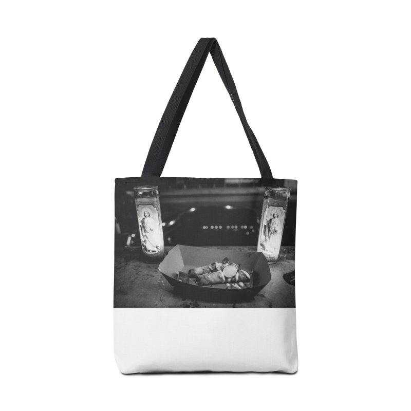 Downtown Accessories Tote Bag Bag by ENRAPTURED CLOTH