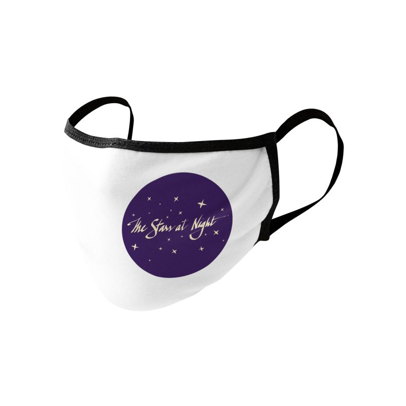 The Stars at Night Accessories Face Mask by Environmental Arts Alliance Shop