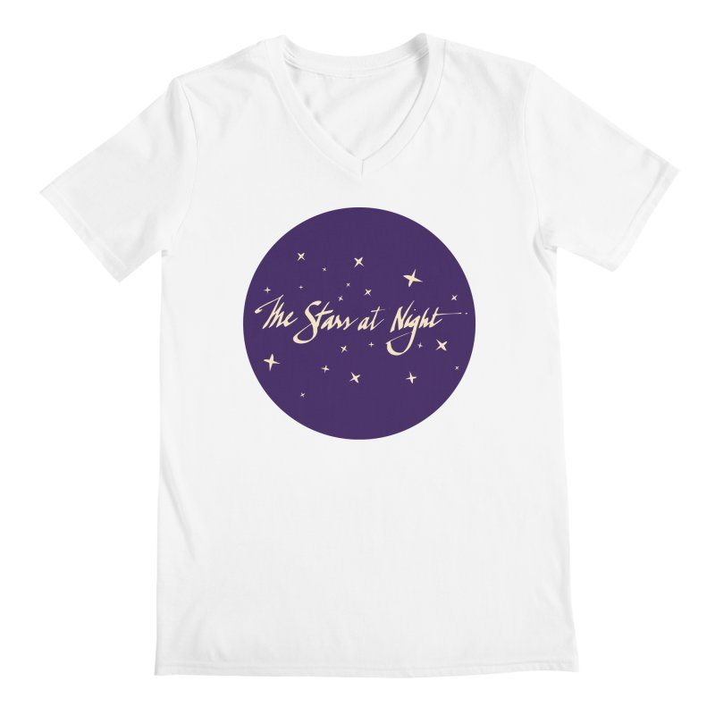 The Stars at Night Men's V-Neck by Environmental Arts Alliance Shop