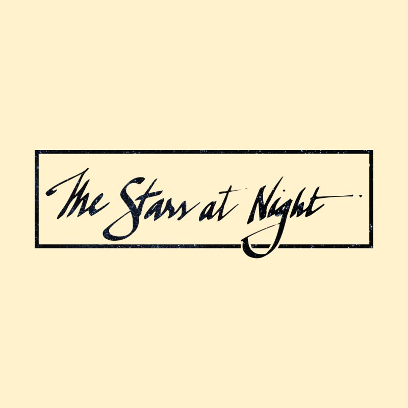 The Stars at Night - Border Logo Accessories Face Mask by Environmental Arts Alliance Shop