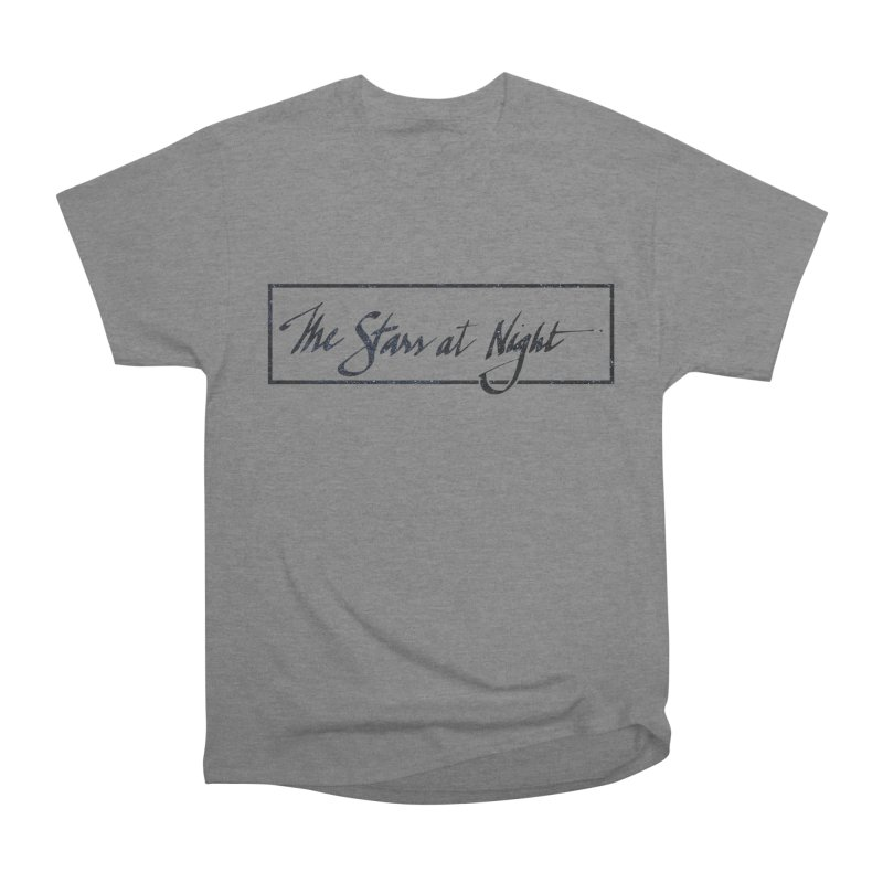 The Stars at Night - Border Logo Men's T-Shirt by Environmental Arts Alliance Shop