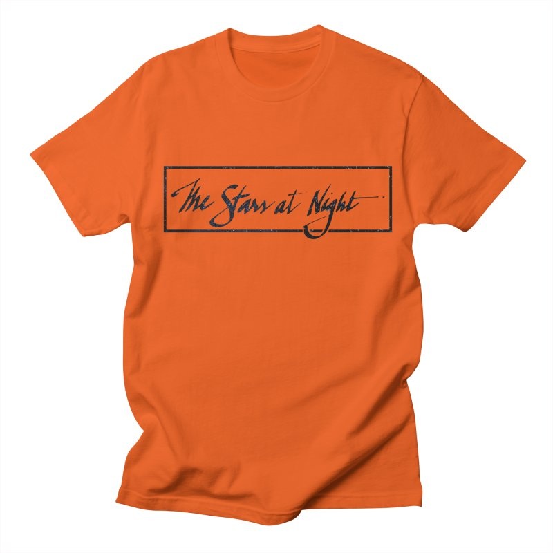 The Stars at Night - Border Logo Men's T-Shirt by Environmental Arts Alliance Shop