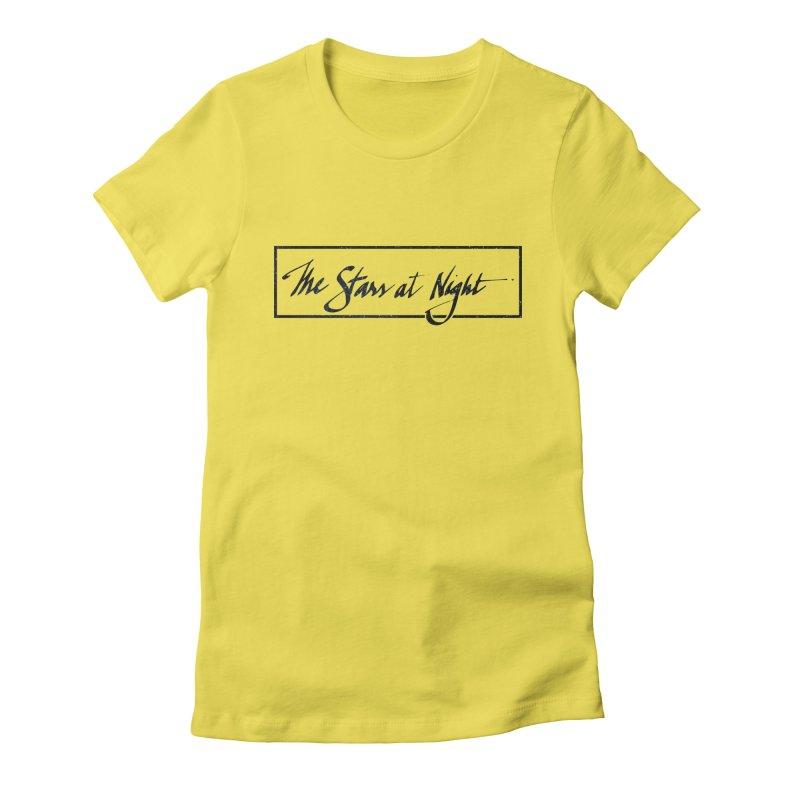The Stars at Night - Border Logo Women's T-Shirt by Environmental Arts Alliance Shop