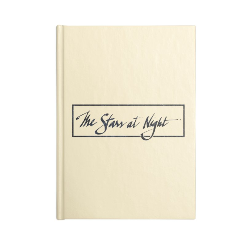 The Stars at Night - Border Logo Accessories Notebook by Environmental Arts Alliance Shop