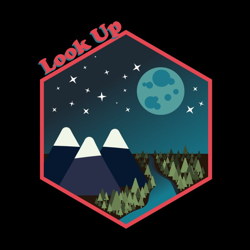 Look Up! Accessories Button by Environmental Arts Alliance Shop