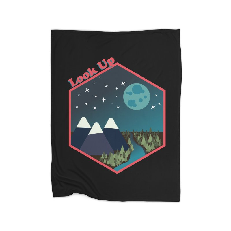 Look Up! Home Blanket by Environmental Arts Alliance Shop