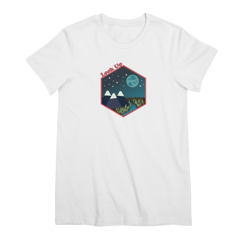 Look Up! Women's T-Shirt by Environmental Arts Alliance Shop