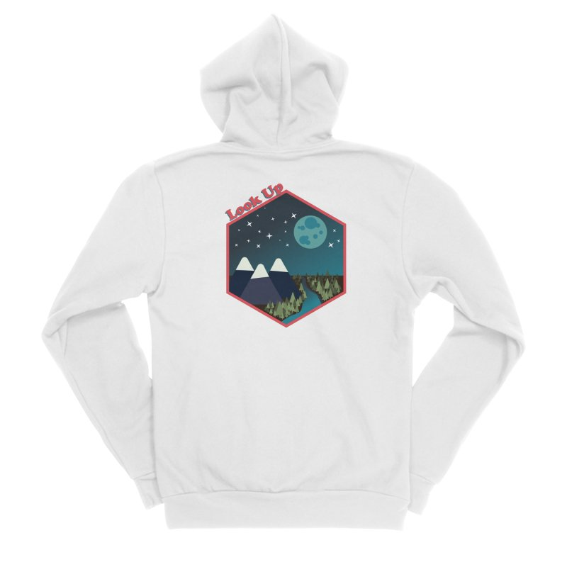 Look Up! Men's Zip-Up Hoody by Environmental Arts Alliance Shop