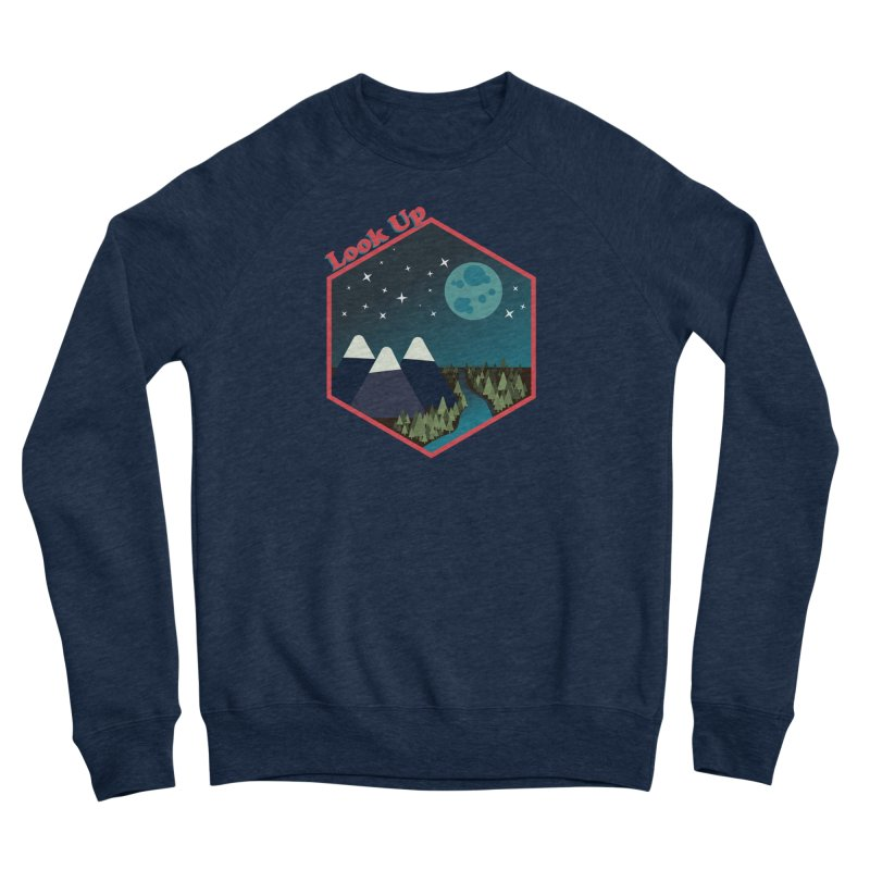 Look Up! Men's Sweatshirt by Environmental Arts Alliance Shop