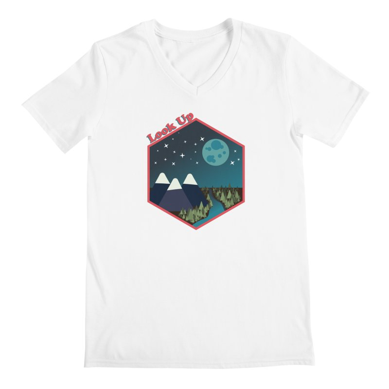 Look Up! Men's V-Neck by Environmental Arts Alliance Shop