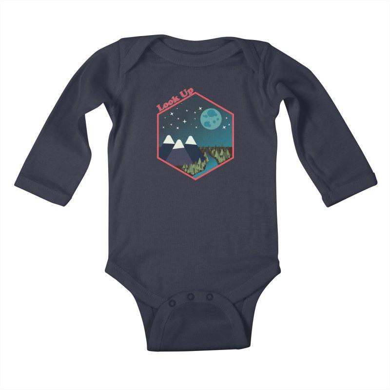 Look Up! Kids Baby Longsleeve Bodysuit by Environmental Arts Alliance Shop