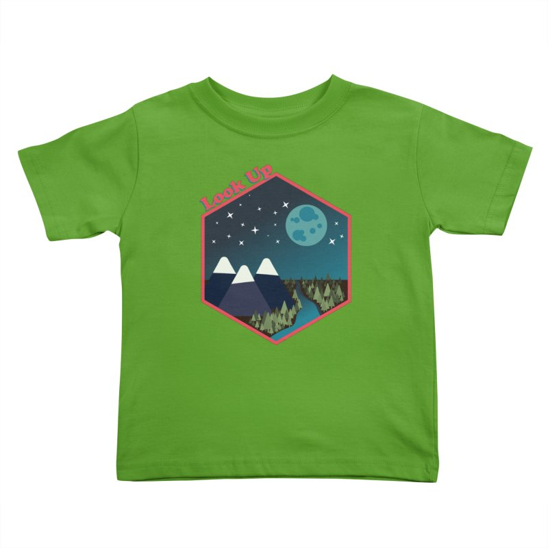 Look Up! Kids Toddler T-Shirt by Environmental Arts Alliance Shop