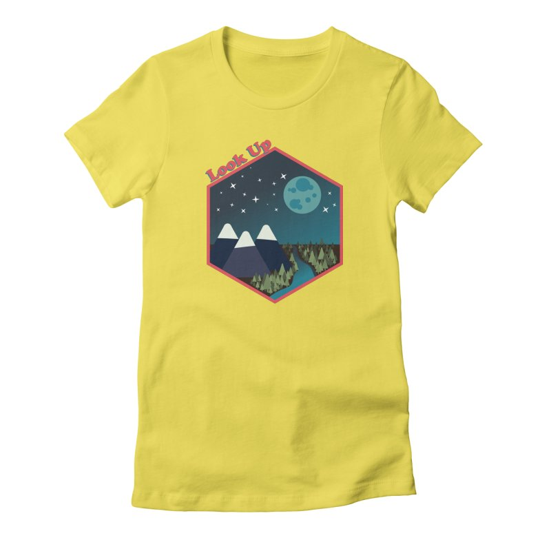 Look Up! Women's T-Shirt by Environmental Arts Alliance Shop