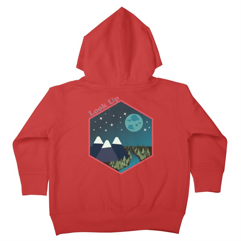 Look Up! Kids Toddler Zip-Up Hoody by Environmental Arts Alliance Shop